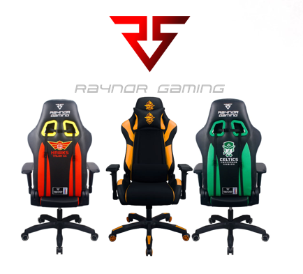 Official Raynor Gaming Team Chairs Now Available
