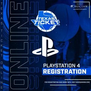 PS4 Texas Ticket 2020 Registration