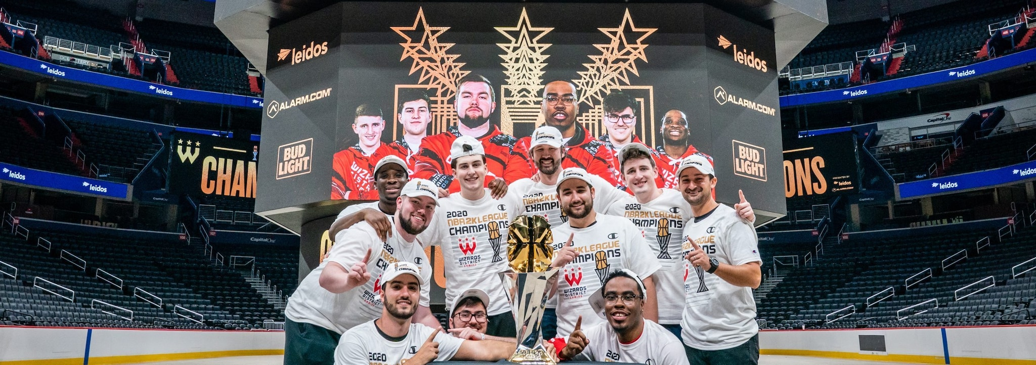 Wizards District Gaming Wins NBA 2K League Championship