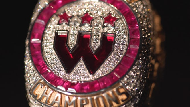 Wizards District Gaming NBA 2K League Championship Ring