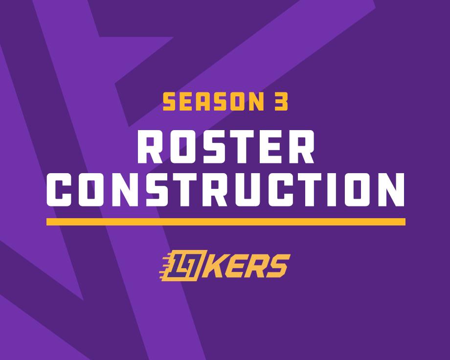 2k League Season 3 Roster Construction