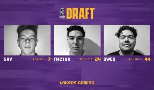 Lakers Gaming Draft