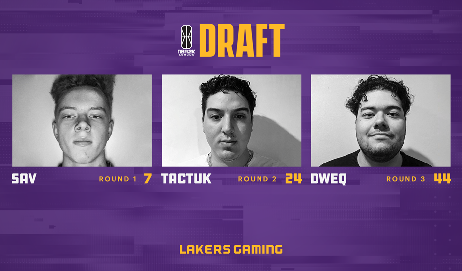 Lakers Gaming Draft