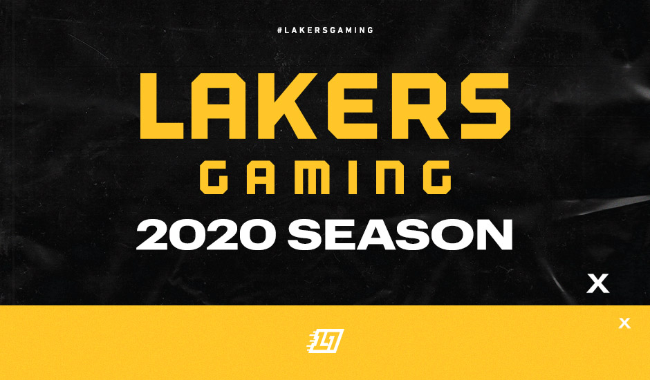 Lakers Gaming Season 2020 Tip Off