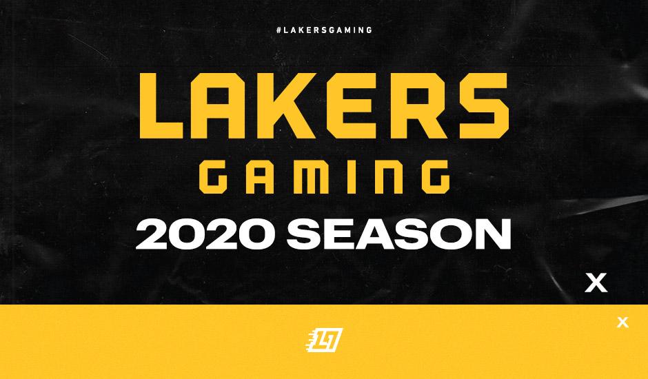 Lakers Gaming Season 2020 Tip Off