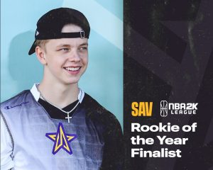 SAV NBA 2K League Rookie of the Year Finalist