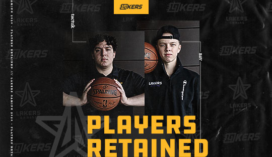 Lakers Gaming Players Retained
