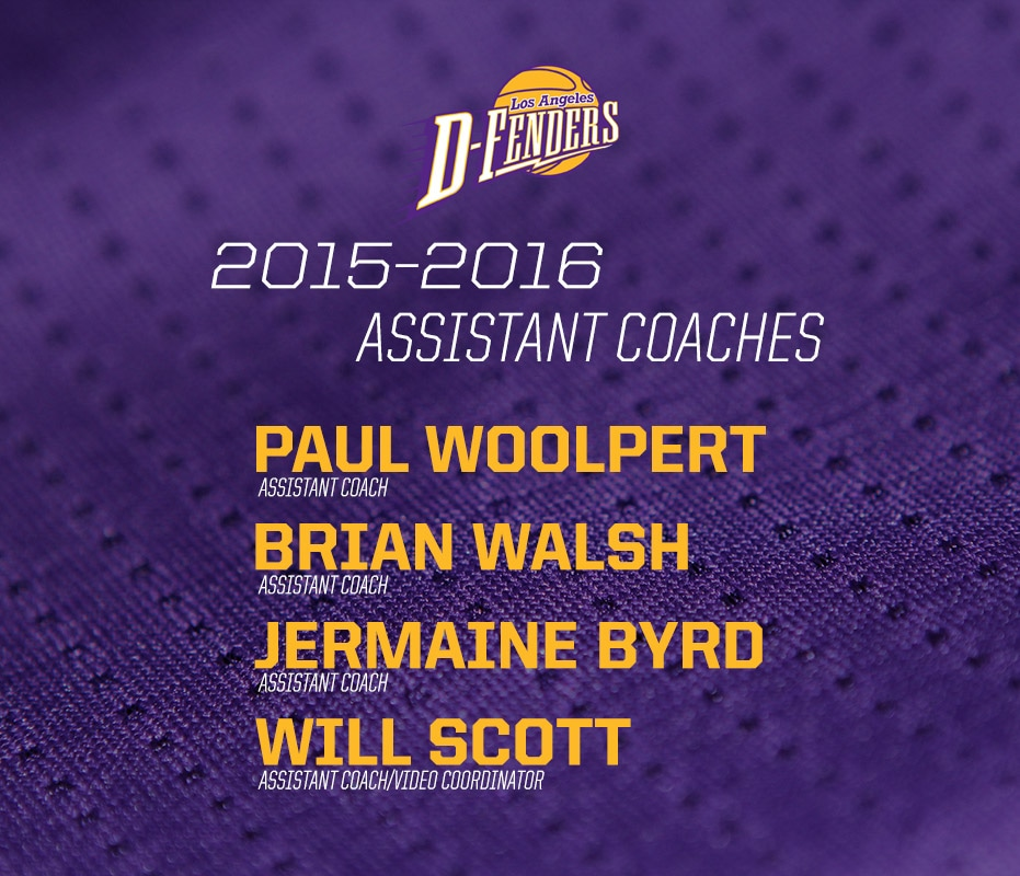 D-Fenders Announce Coaching Staff