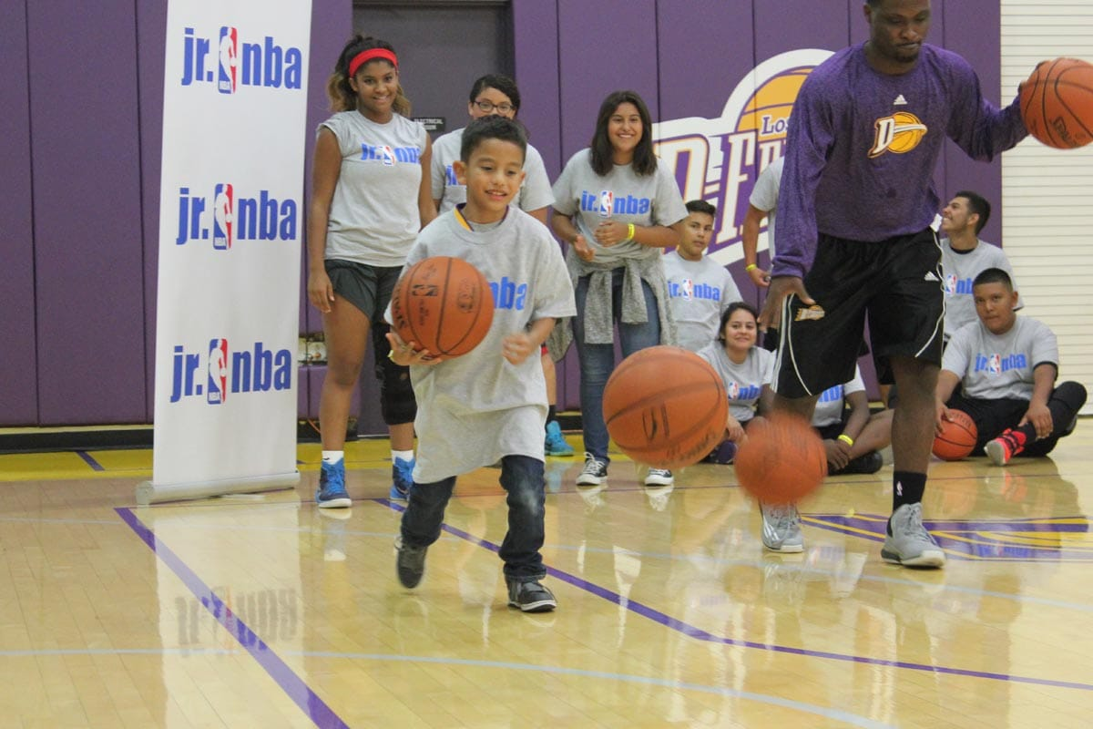 D-Fenders Host Jr. NBA Clinic
