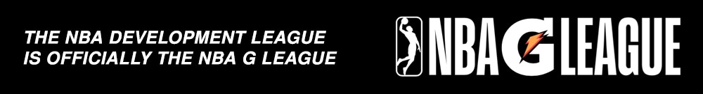 NBA Development League is now NBA G League