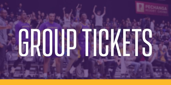 South Bay Lakers Group Tickets