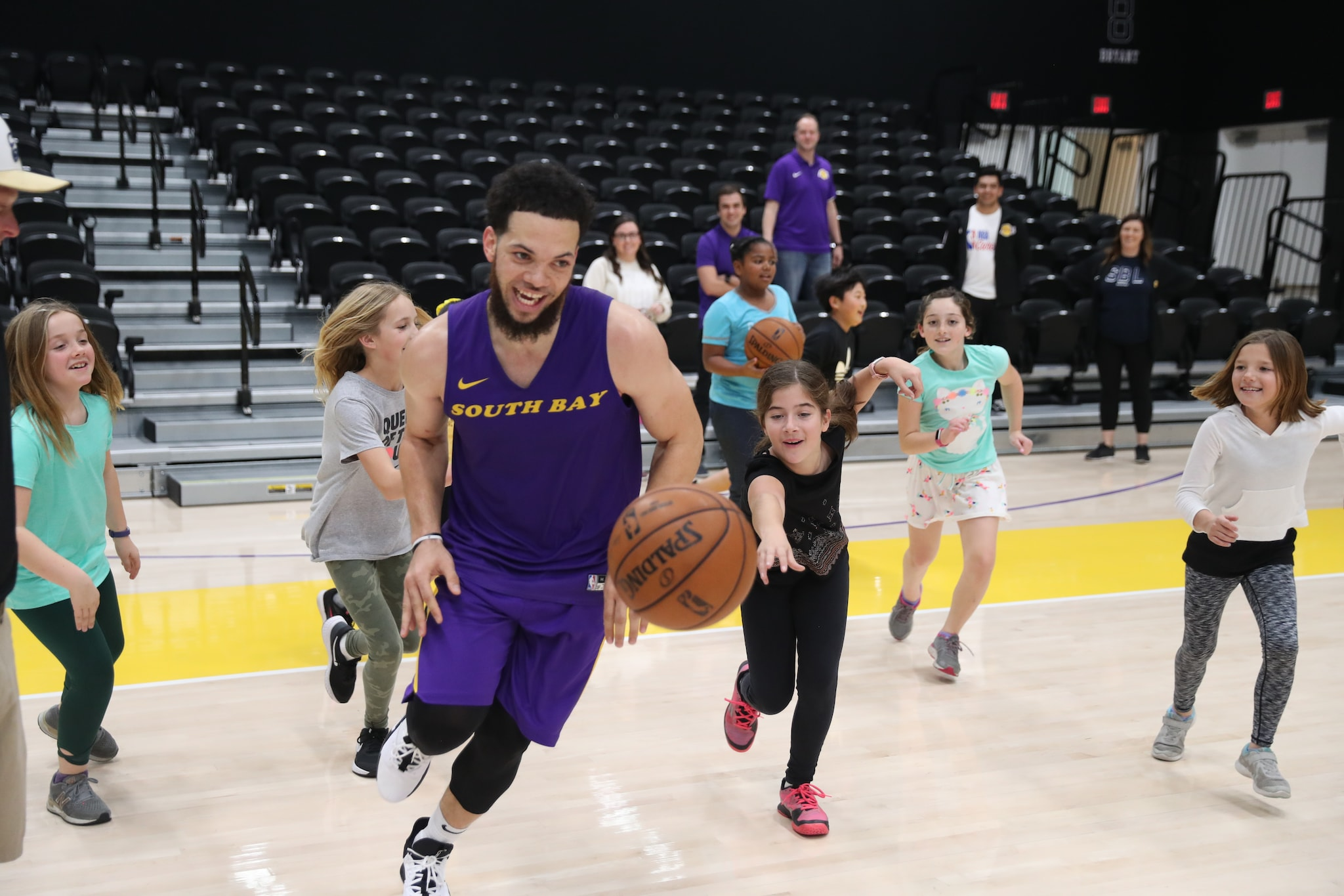 South Bay Lakers Open Practice Elementary 2020
