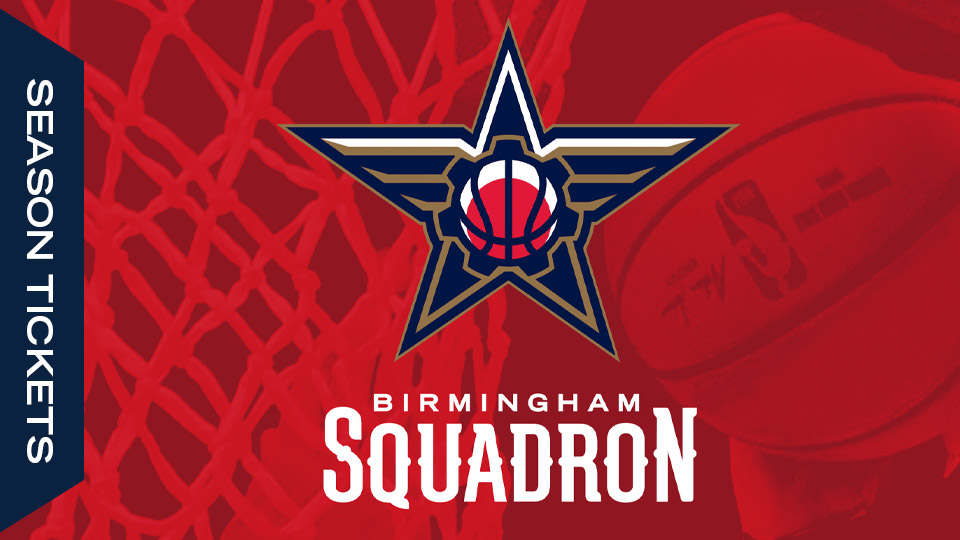 Birmingham G-League Basketball Season Tickets