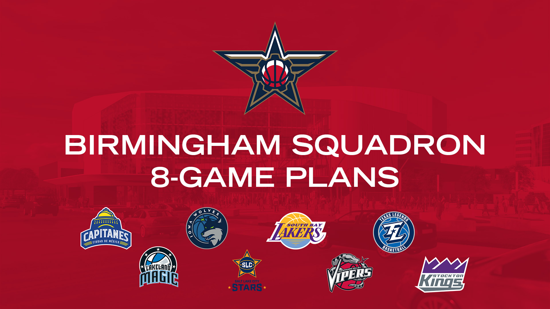 Birmingham Squadron 8-Game Plans