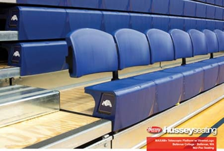 """Example of new """"Side-Center"""" seating"""