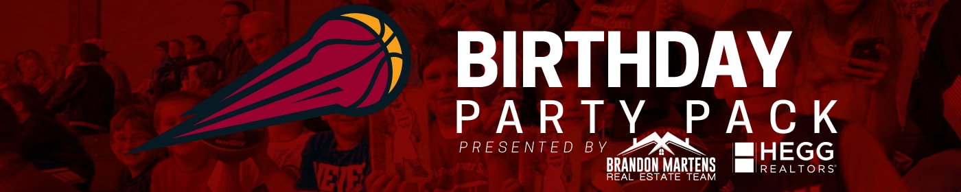 Birthday Party Packs are a memorable way to celebrate your birthday with the Skyforce