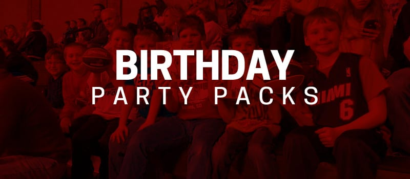 Skyforce Birthday Party Packages