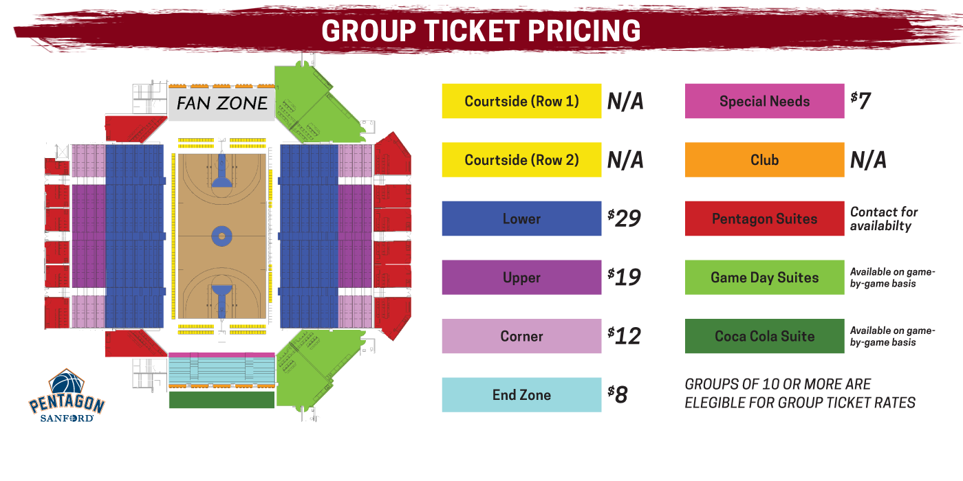 Skyforce group ticket pricing for 2019-20