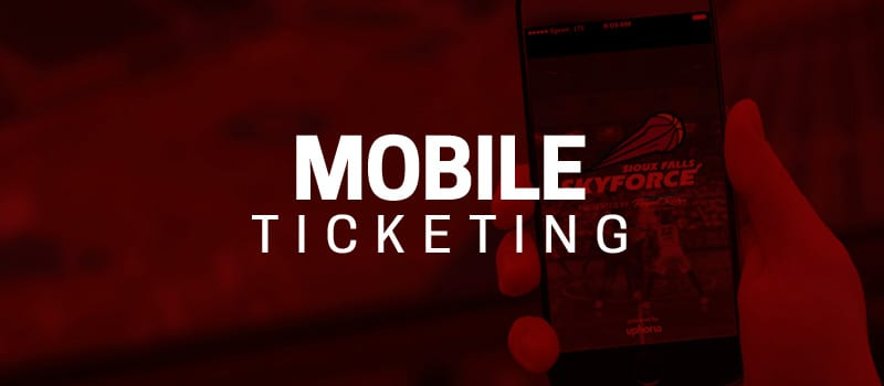 Details About Mobile Ticketing for the Skyforce