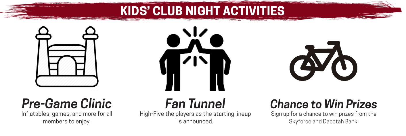 Kids' Club Night activities make for a memorable night