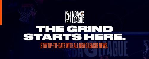 G League Newsletter Sign Up Header