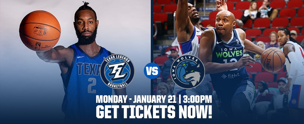 Get Tickets For January 21st Home Game at Ticketmaster