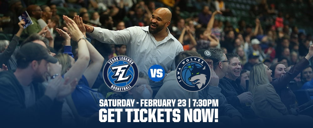 Tickets for Feb 23 Legends Game at Comerica Center