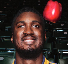 Men's Health Feature on Pacers Center Roy Hibbert