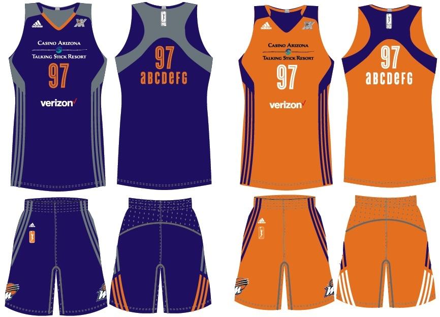 Phoenix Mercury Uniform