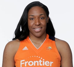 UNCASVILLE, CT  APRIL 28:  Kelsey Bone #3 of the Connecticut Sun poses for a head shot at WNBA Media Day at Mohegan Sun on April 28, 2016 in Bristol Connecticut. NOTE TO USER: User expressly acknowledges and agrees that, by downloading and/or using this photograph, user is consenting to the terms and conditions of the Getty Images License Agreement.  Mandatory Copyright Notice: Copyright 2016 NBAE (Photo by Steven Freeman/NBAE via Getty Images)