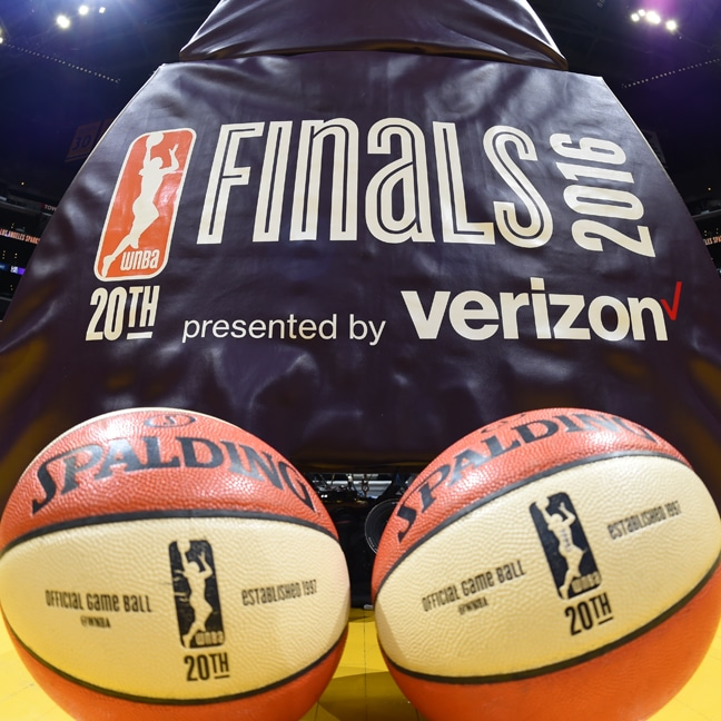 Game 4 of the 2016 WNBA Finals from Staples Center in Los Angeles
