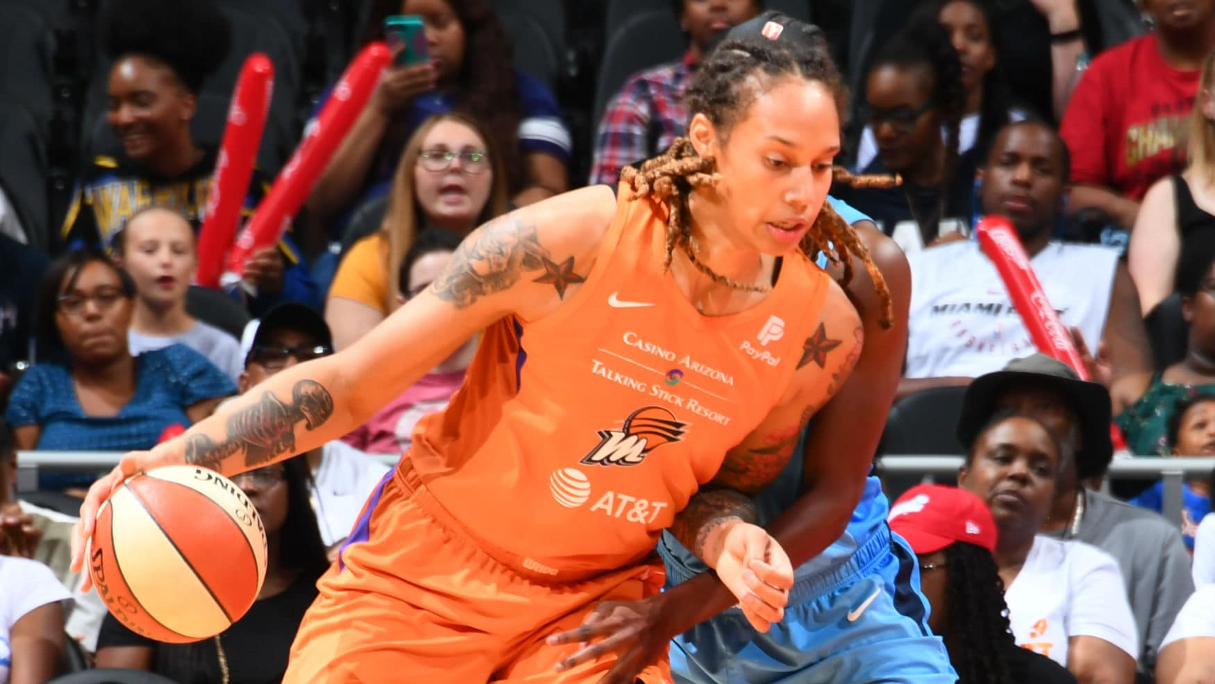 Phoenix's Griner, Connecticut's Jones and Chicago's Vandersloot Earn 2019 WNBA Peak Performer Awards - WNBA.com - Official Site of the WNBA