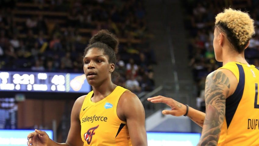 McCowan Has Massive Game In Fever Win, 63-54 - WNBA.com - Official Site of the WNBA