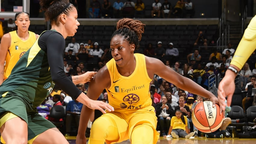Inside The W with Michelle Smith: LA Proves Dominant vs. Seattle, Preps For Connecticut - WNBA.com - Official Site of the WNBA