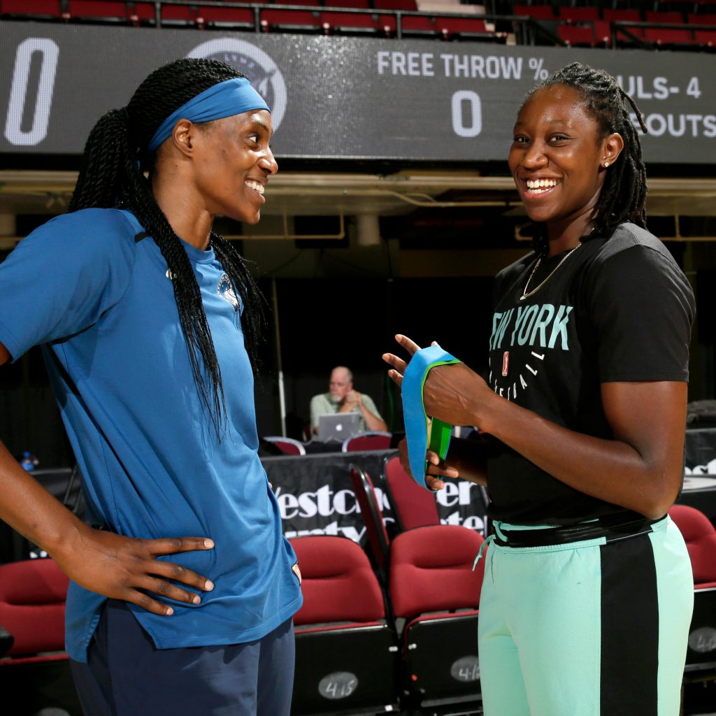 Sylvia Fowles and Tina Charles talk