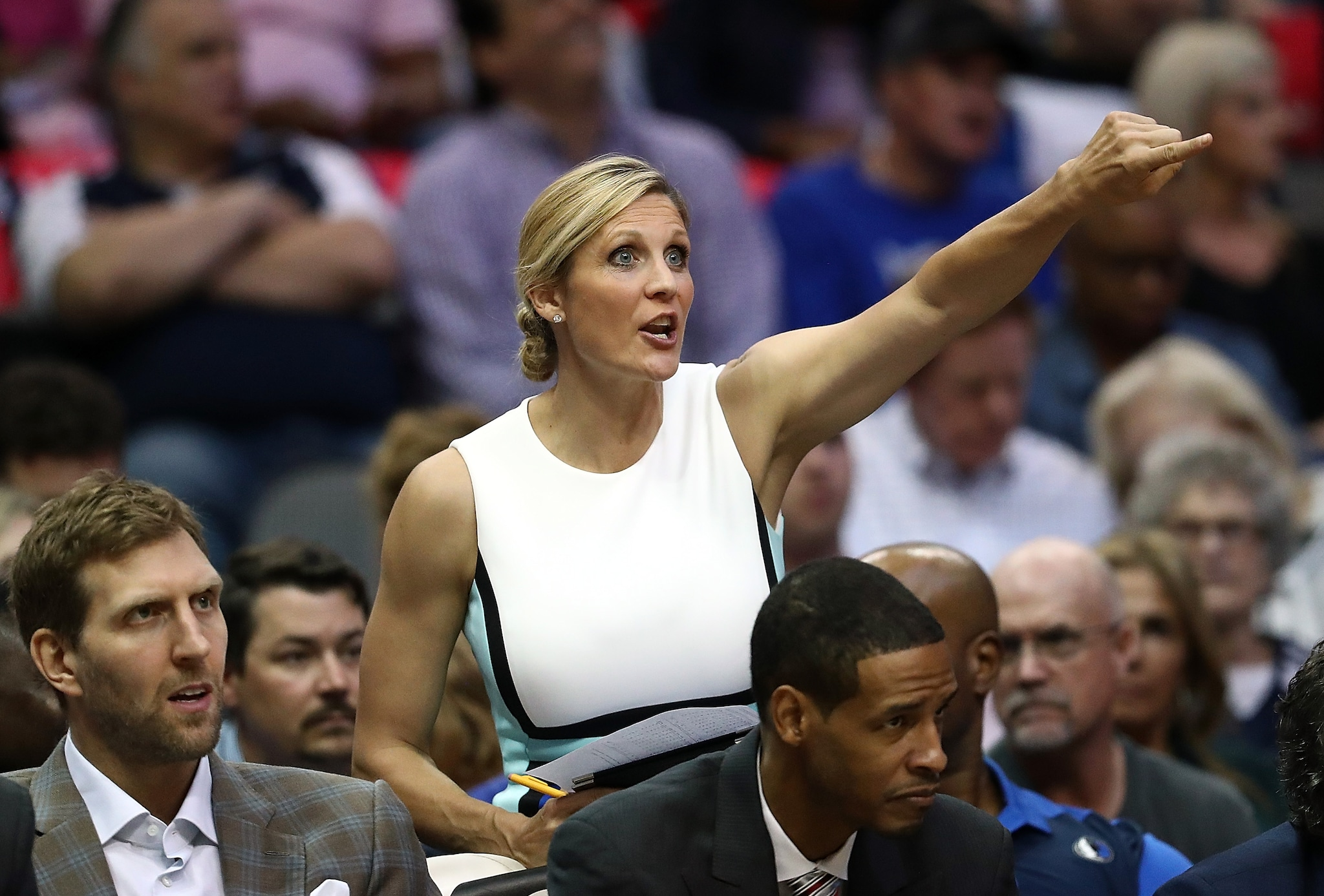 Kristi Toliver Washingotn Wizards Assistant Coach