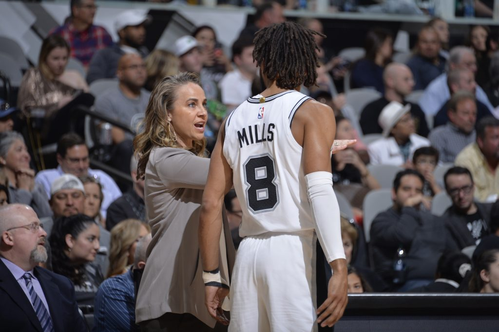 Becky Hammon San Antonio Spurs Assistant Coach