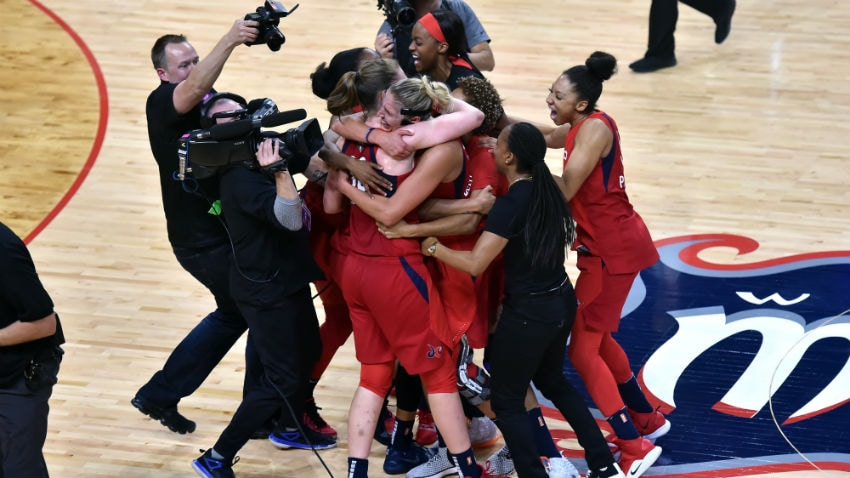 Inside The W With Michelle Smith: Mystics Win It All - WNBA.com - Official Site of the WNBA