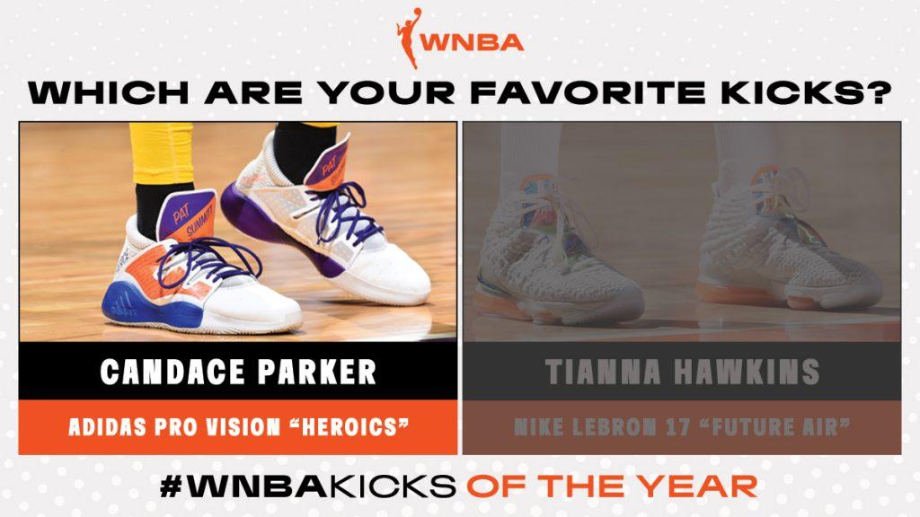 Candace Parker wins round 1 of #WNBAKicks