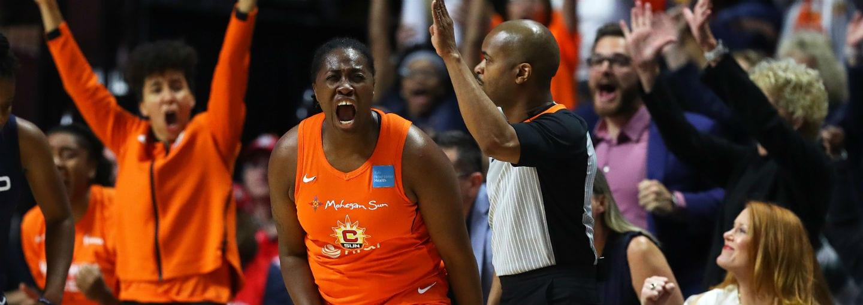 WNBA Finals: Connecticut Sun fuerza el quinto partido de la final tras derrotar a Washington Mystics