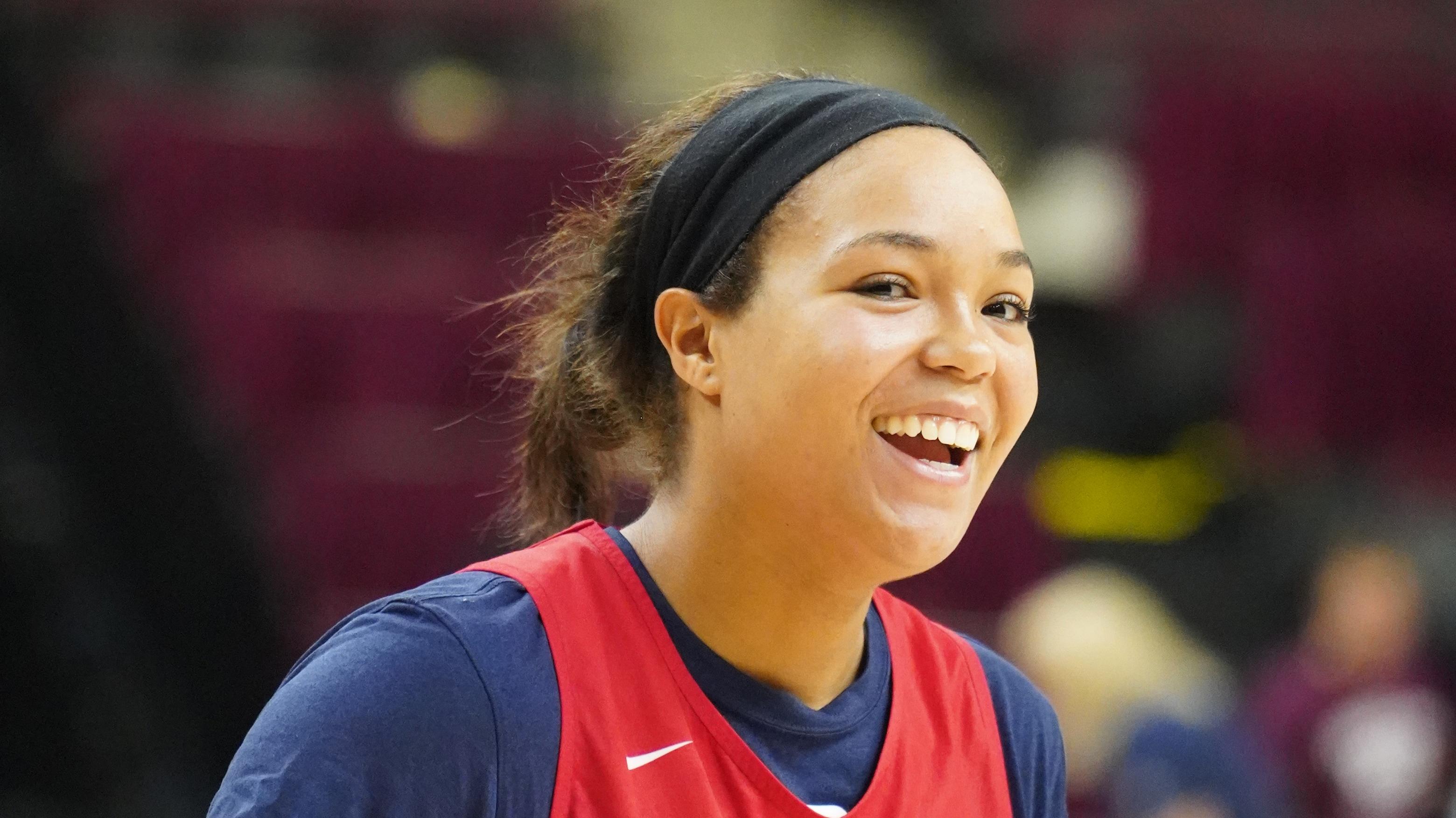 USAB Practice Ahead of Texas A&M Game - WNBA.com - Official Site of the WNBA