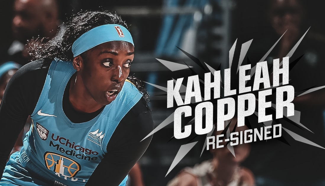 Kahleah Copper Returns to Chicago, Re-Signs With Sky