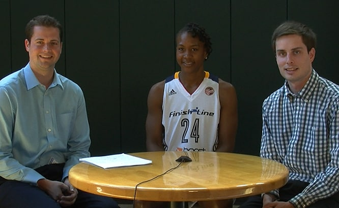 Pat Boylan, Tamika Catchings, Wheat Hotchkiss