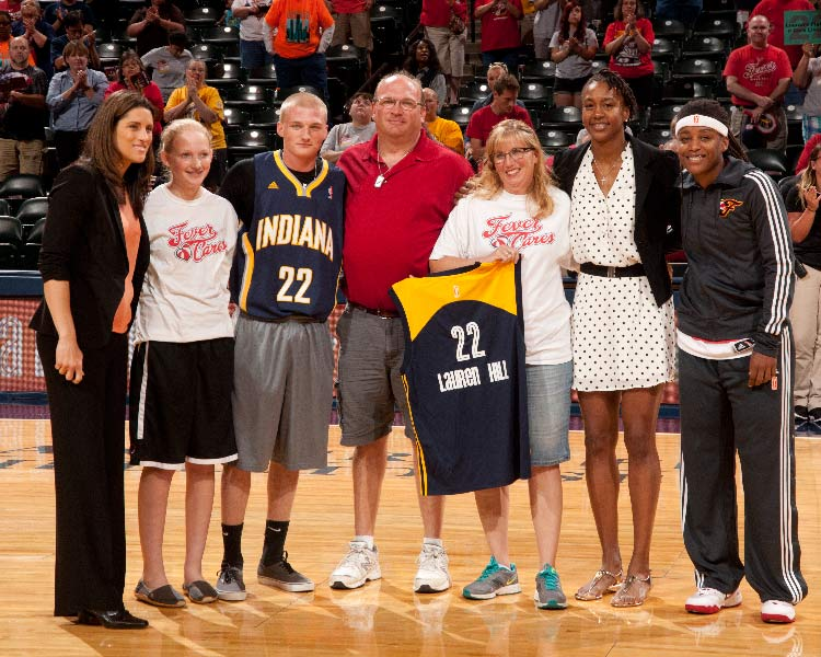 Lauren Hill Family