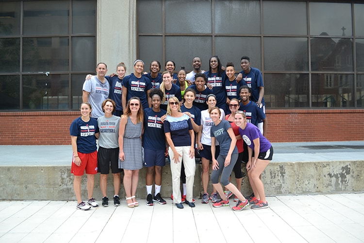 The Fever Family at Workout W