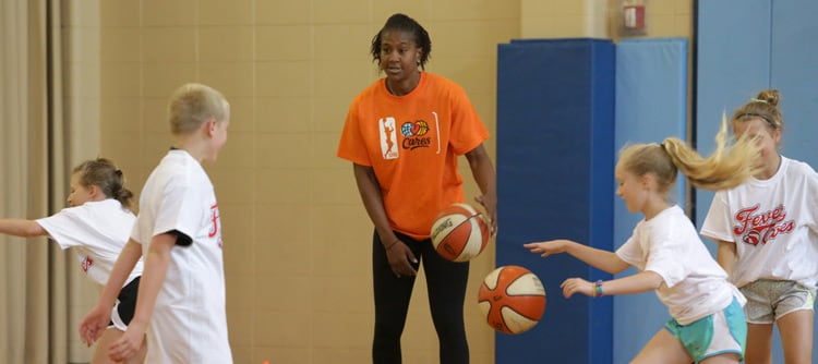 Tamika Catchings Fever Cares