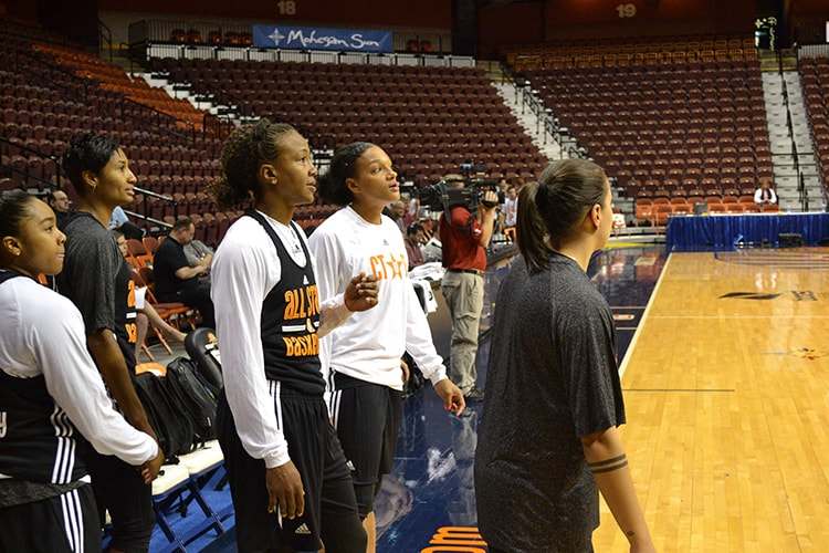 WNBA All-Star Practice