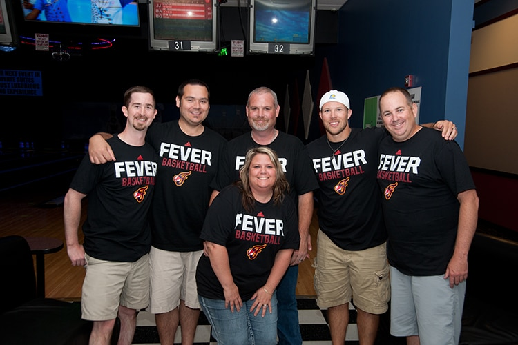 Indiana Fever Bowling Tournament