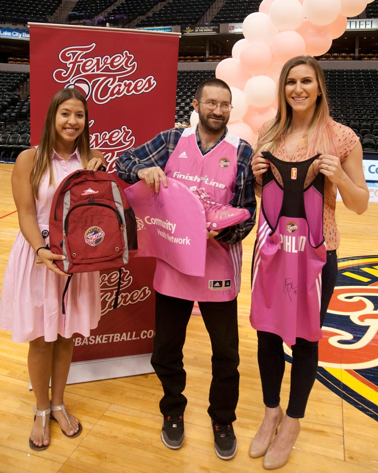 Breast Health Awareness Night postgame LIVE auction