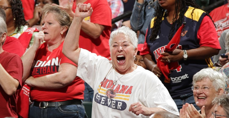 Fever Fans Cheering